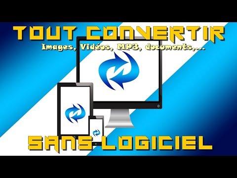 Comment convertir images, vidéos, musiques sans logiciel ?