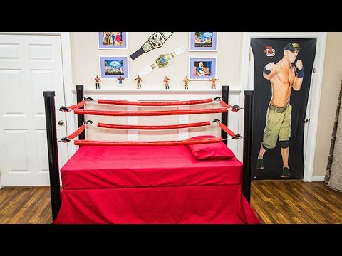 How To Diy Wrestling Bed For Kids Hallmark Channel