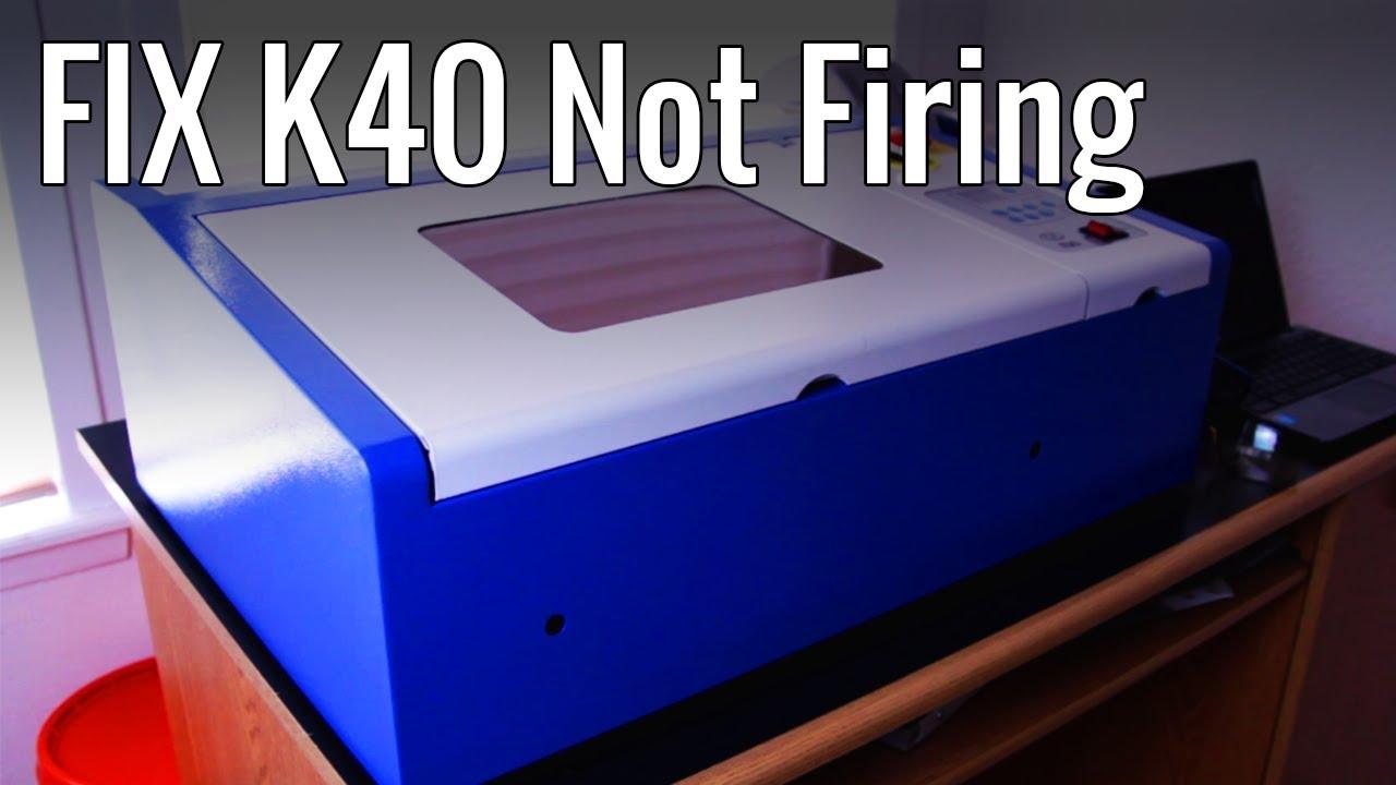 K40 Laser not firing? Possible Easy Fix (bypassing water sensor)