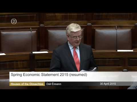 Eamon Gilmore on Spring Statement