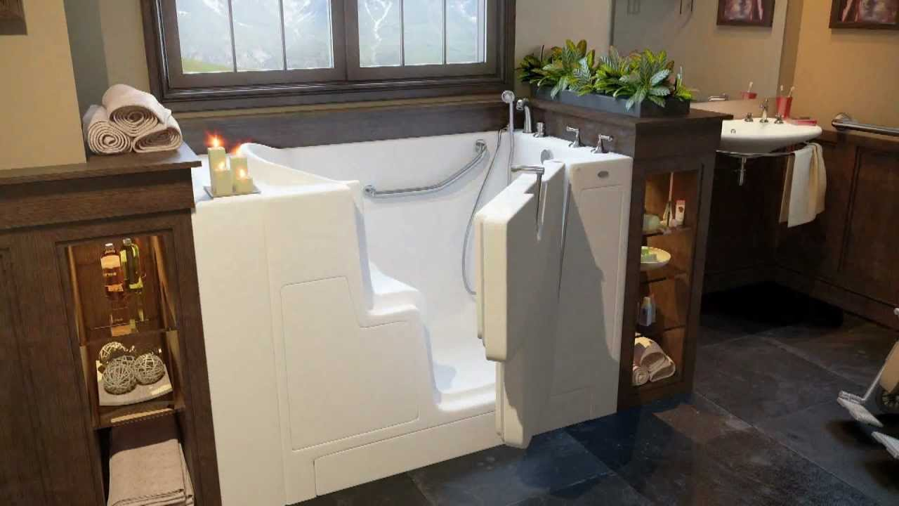 Hydro Dimensions Walk-in Tubs - YouTube