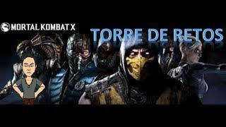 Mortal kombat XL - TORRE DE RETOS Español Latino