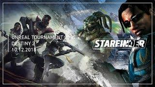Прохождение Unreal Tournament 2004 (Часть 5) / Destiny 2 (Часть 4) (10.12.2018)