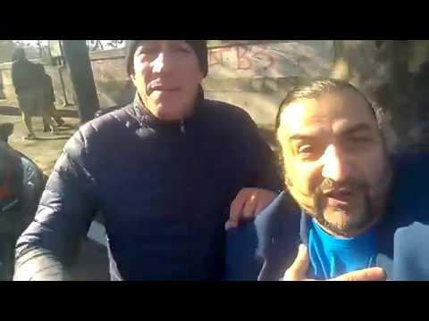 Selfie Saluto di Buon Anno Nuovo 2017 da Riccardo Rossi e da Il Salutatore