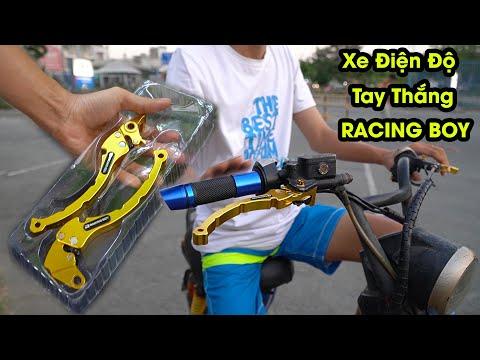 Xe Đạp Điện Độ Kiểng / Xe Điện 133S Độ tay thắng Racing Boy đẹp
