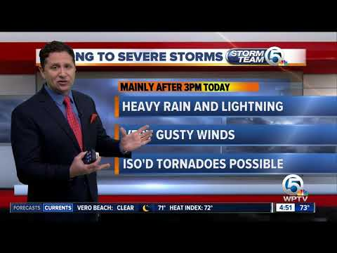 Thumbnail: South Florida Thursday morning forecast (11/23/17)
