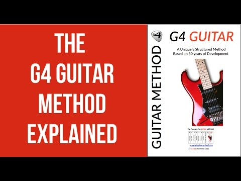 How To Play Guitar. The G4 GUITAR METHOD Explained - YouTube
