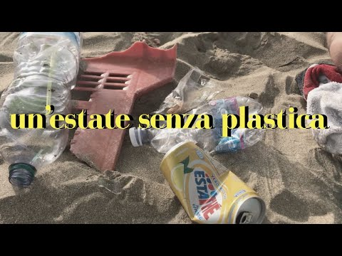 vivere senza plastica - plastic free