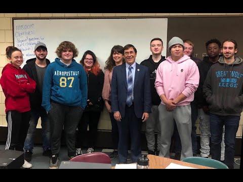 Attleboro Community Academy Students Advocate For Legislation
