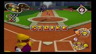 Mario Superstar Baseball Exhibition Game 2 - Bowser Black Stars VS Peach Roses