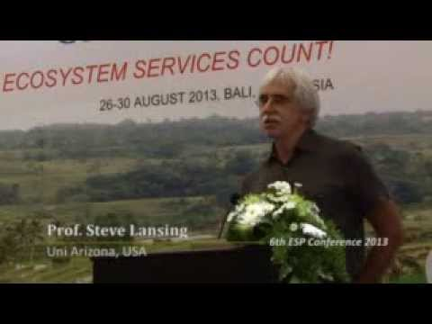 Steve Lansing on Bali's world heritage cultural landscape: keynote address