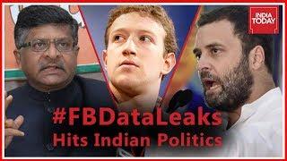 In Depth   Political War Over Facebook Data Leaks In Indian Politics