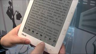 ASUS E-Reader DR-900 Hands-On