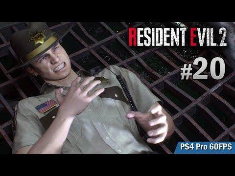 【火箭炮虐殺】#20 Leon B 路線 喪屍無雙   | Biohazard RE:2  (Resident Evil 2 remake) PS4 Pro 60 FPS