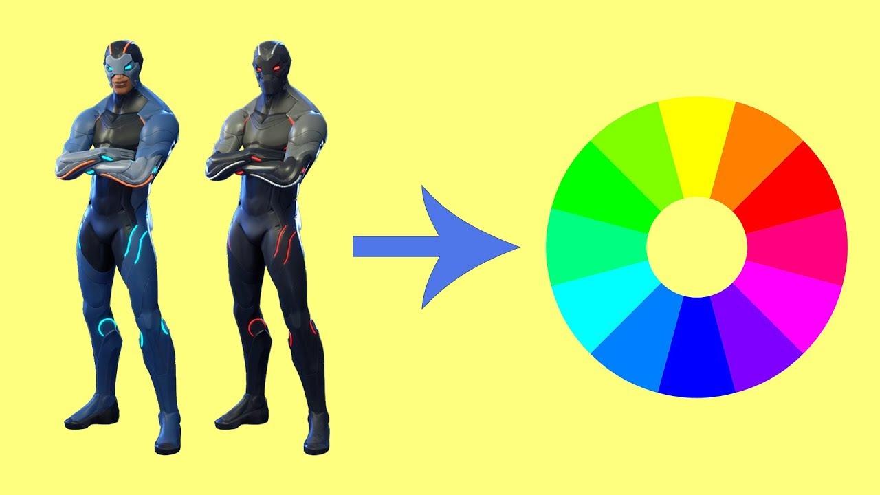 customize as cores das skins fortnite battle royale - cores do omega fortnite