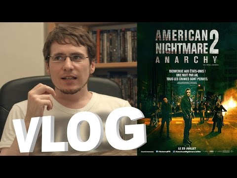 Vlog - American Nightmare 2 - Anarchy poster
