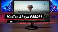 Medion Akoya P55491: Test des günstigen Aldi-Monitors
