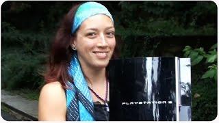 Ex-Girlfriend Destroys PS3
