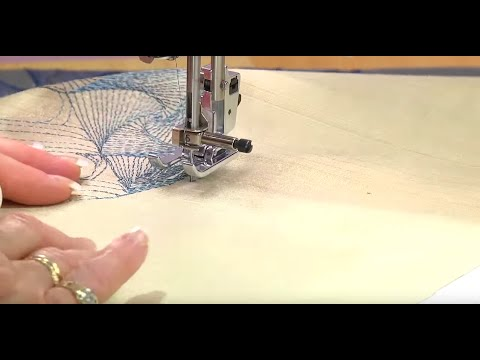 HandsFree Pivoting On A Baby Lock Sewing Machine YouTube Cool Hands Free Sewing Machine