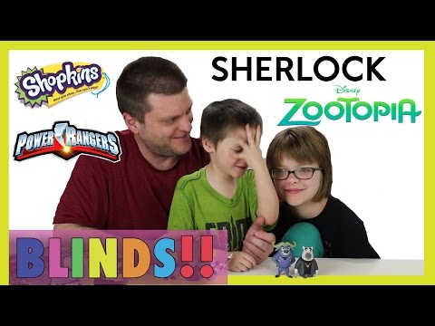 Opening Surprise blinds (Minion Vlog) Zootopia, Shopkins, Power Rangers - Day 1013 | ActOutGames