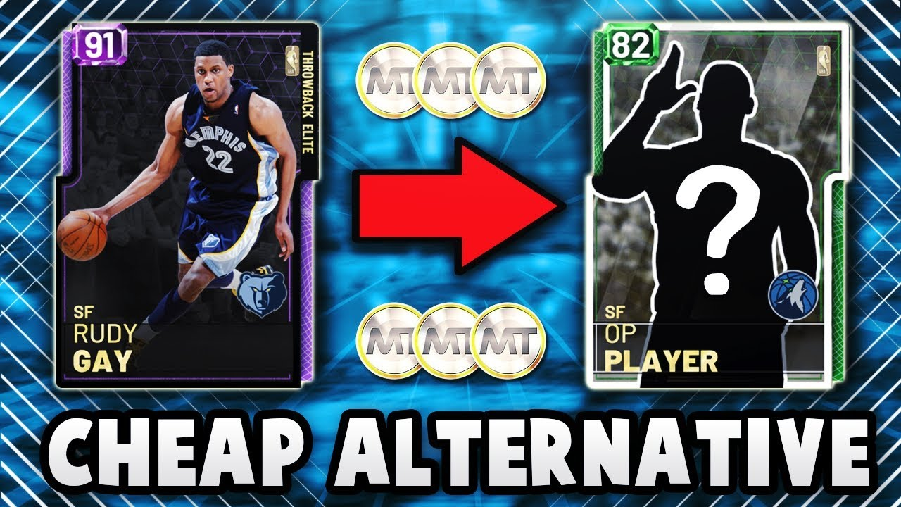 5 CHEAP ALTERNATIVES TO THE 5 BEST PLAYERS THAT YOU CAN BUY IN NBA 2K19  MyTEAM!!