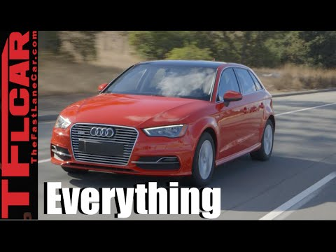 2016 Audi A3 Sportback e-tron: Everything You Ever Wanted to Know