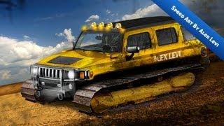 Hummer Hybrid (Speed Art) (Alex Levi 2013)