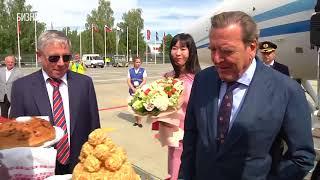В Казань прибыл экс-канцлер Германии Герхард Шредер