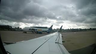 Takeoff at Airport Nürnberg // A320 Eurowings // NUE-DUS
