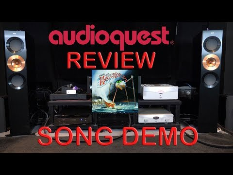 Audioquest Niagara 7000 Review + YBA Passion Song Demo War of Worlds HiFi Power Cable