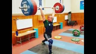 Александр Пелешенко толчок 200 кг