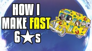 【Epic Seven】Making Fast 6*'s u0026 How To Level Fodder Efficiently!
