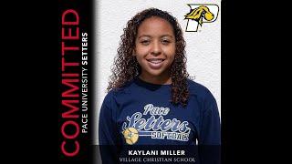 Kaylani Miller 2020 SS/Utility SKills Video