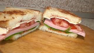 ТОП 3 Способа сделать вкусный бутерброд!