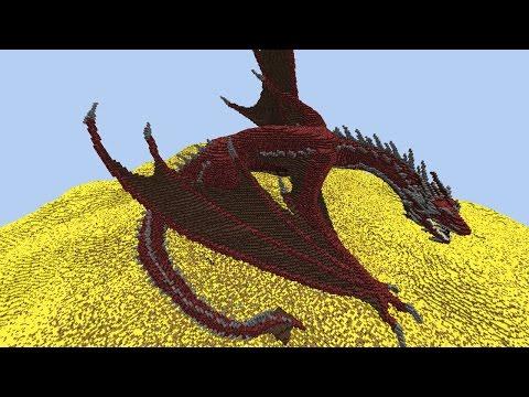 Smaug & Mirkwood - Minecraft Hobbit Megabuild