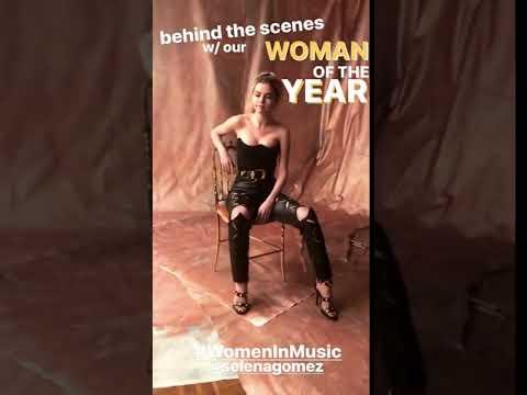 Selena Gomez Backstage At Billboard's 2017 Women In Music Event 11/30/2017