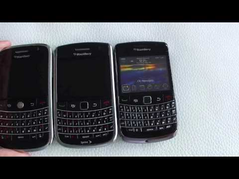 BlackBerry Bold 9650 vs Bold 9000