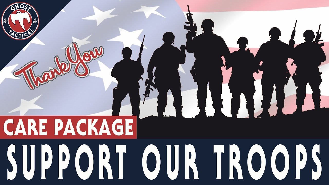 HOW TO Support Our Troops For Christmas:  Send A Care Package!