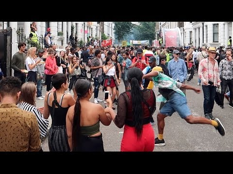Notting Hilll Carnival 2018 London Street Party Monday