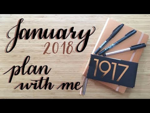 Plan With Me | January 2018
