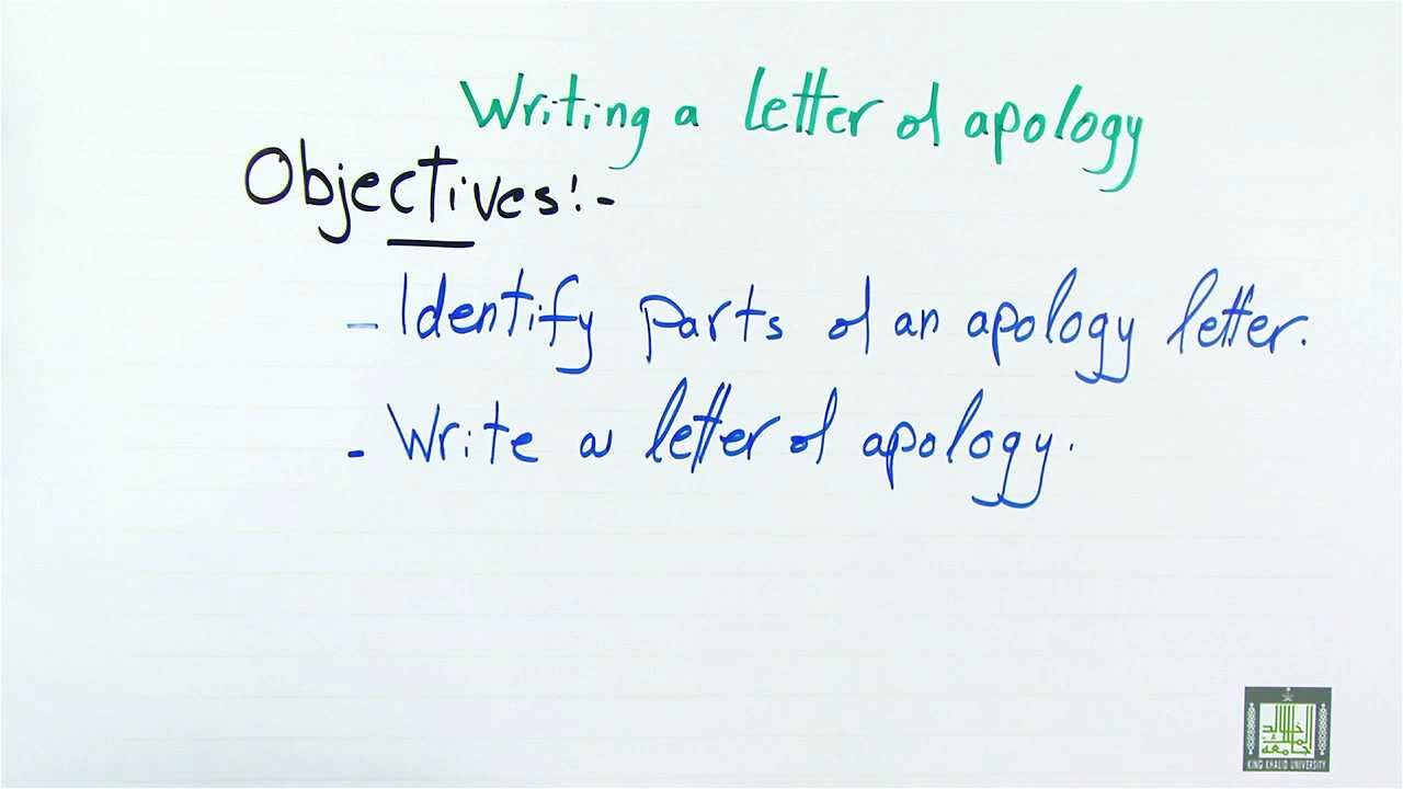 WRITING Writing Letters of Apologies YouTube