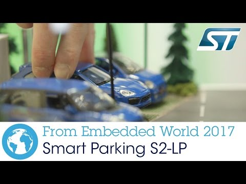 Smart Parking solution with the S2-LP