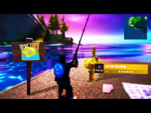 How to Find MYTHIC GOLD FISH! (3 Steps)
