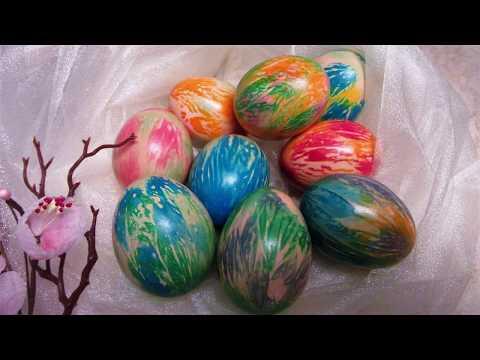 Jednostavno i zanimljivo bojanje uskršnjih jaja/Simple coloring easter eggs