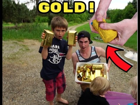 OPENING 40 MYSTERY GOLD BARS!!!