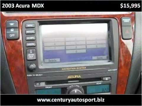 2003 Acura MDX Used Cars Van Nuys, studio city, north hollyw