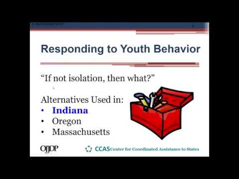 Reducing Isolation in Youth Facilities  Alternative Behavior Management Tools