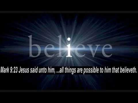 I Believe - Karaoke - Always Glorify God!!!
