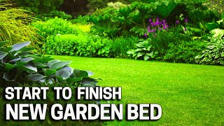 NEW Garden Bed - From Grass to Flowers, Trees and Shrubs