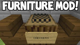 Minecraft (Xbox360/PS3) - TU31 FURNITURE MOD! - Showcase!